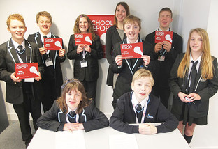 Year 8 students create their own news reports for BBC School Report Day