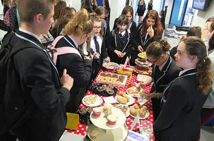 Academy holds cake sale to help victims of Nepal earthquake disaster