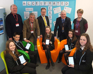 Partnership with Rotary Club means new Kindles for Academy students