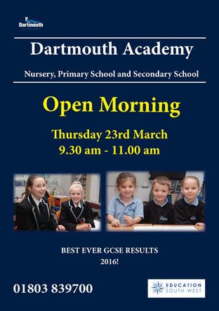 Dartmouth Academy Open morning