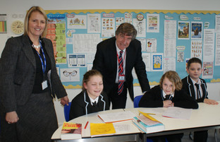 Visit from Sir David Carter, Regional Schools Commissioner, to Dartmouth Academy