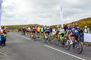 Dartmouth Academy students experience Tour of Britain cycle race first hand