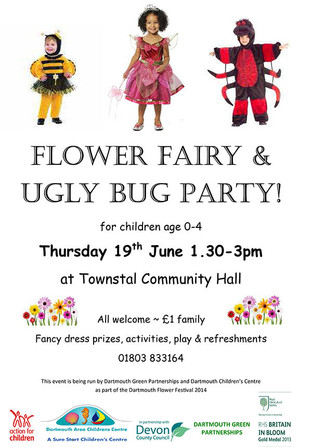 Flower Fairy & Ugly Bug Party