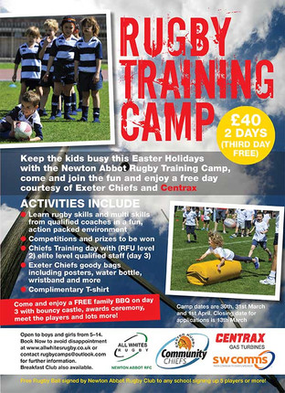 Rugby training camp
