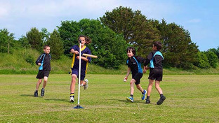 Years 5 and 6 students hit their way to 2nd place in Rounders Area Final!