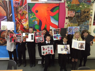 Year 7 Art Attack!