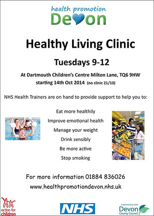 Healthy Living Clinic at Dartmouth Children's Centre