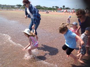 Nursery Trip to Goodrington Sands