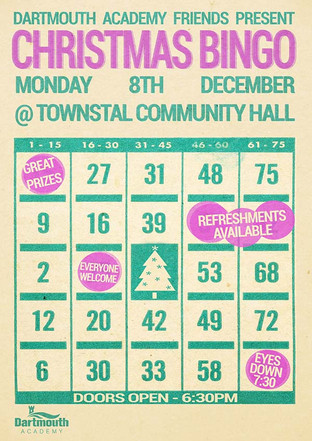 Christmas Bingo at Townstal Community Hall