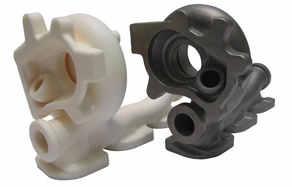 Отливка из стали, полученная по ЛВМ-модели