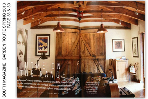 SOUTH MAGAZINE, GARDEN ROUTE SPRING 2013, PAGE 38 & 39