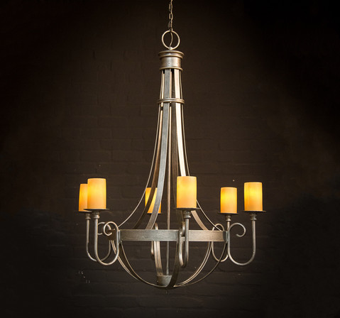 BARCELONA 6 ARM CHANDELIER