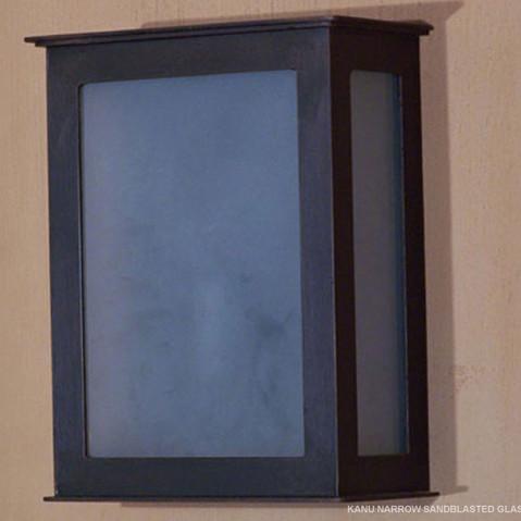 KANU NARROW SANDBLASTED GLASS