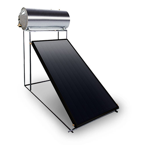 200 Litre Direct Flat Plate Thermosiphon Solar Geyser Kit | ex VAT