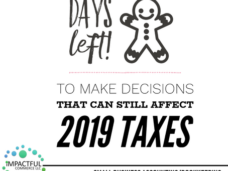 YEAR-END, WAYS TO REDUCE TAX BILL