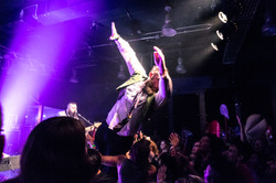 will wood stage dive