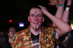 will wood tapeworms fan face paint