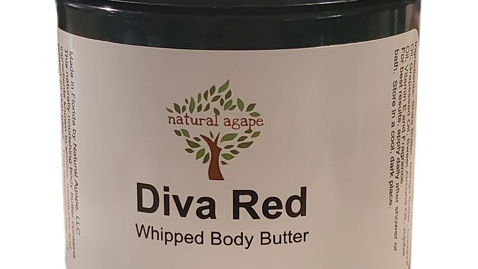 Diva Red Body Butter