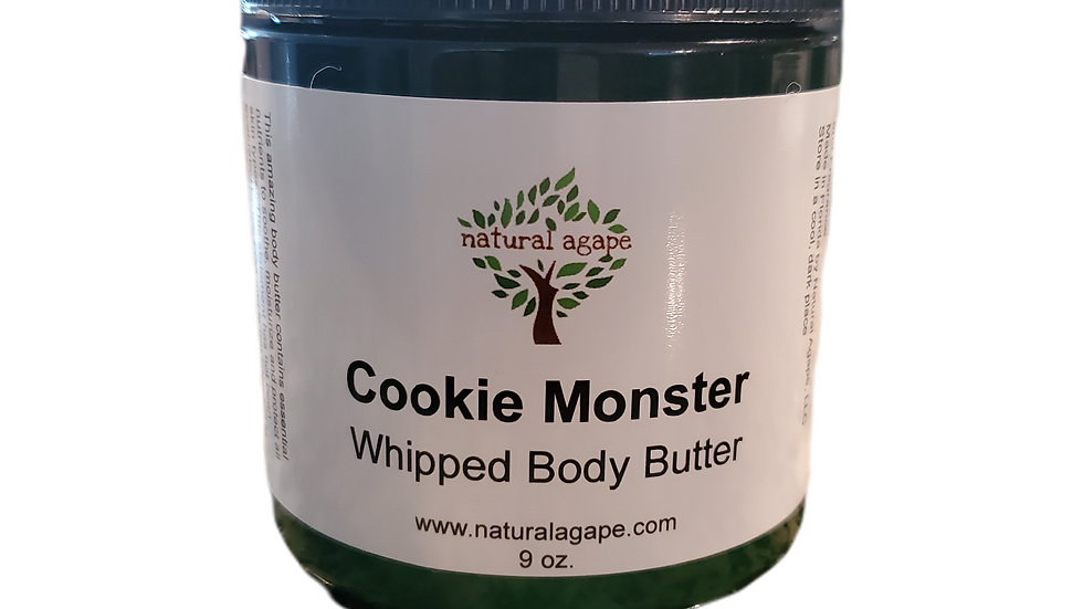 Cookie Monster Body Butter