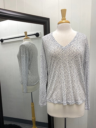 RAILS spotted linen top