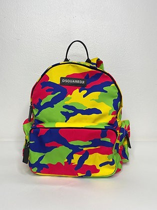 DSQUARED2 CAMO BACKPACK