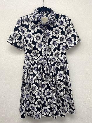 KATE SPADE HOLLYHOCK COTTON DRESS