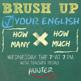 Brush up your english- how much x how ma