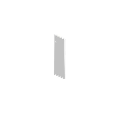 Дверь стеклянная в алюминиевой раме R-04.1