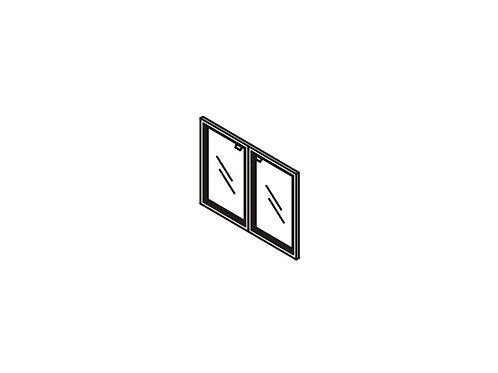 G-01 Двери стеклянные в рамке
