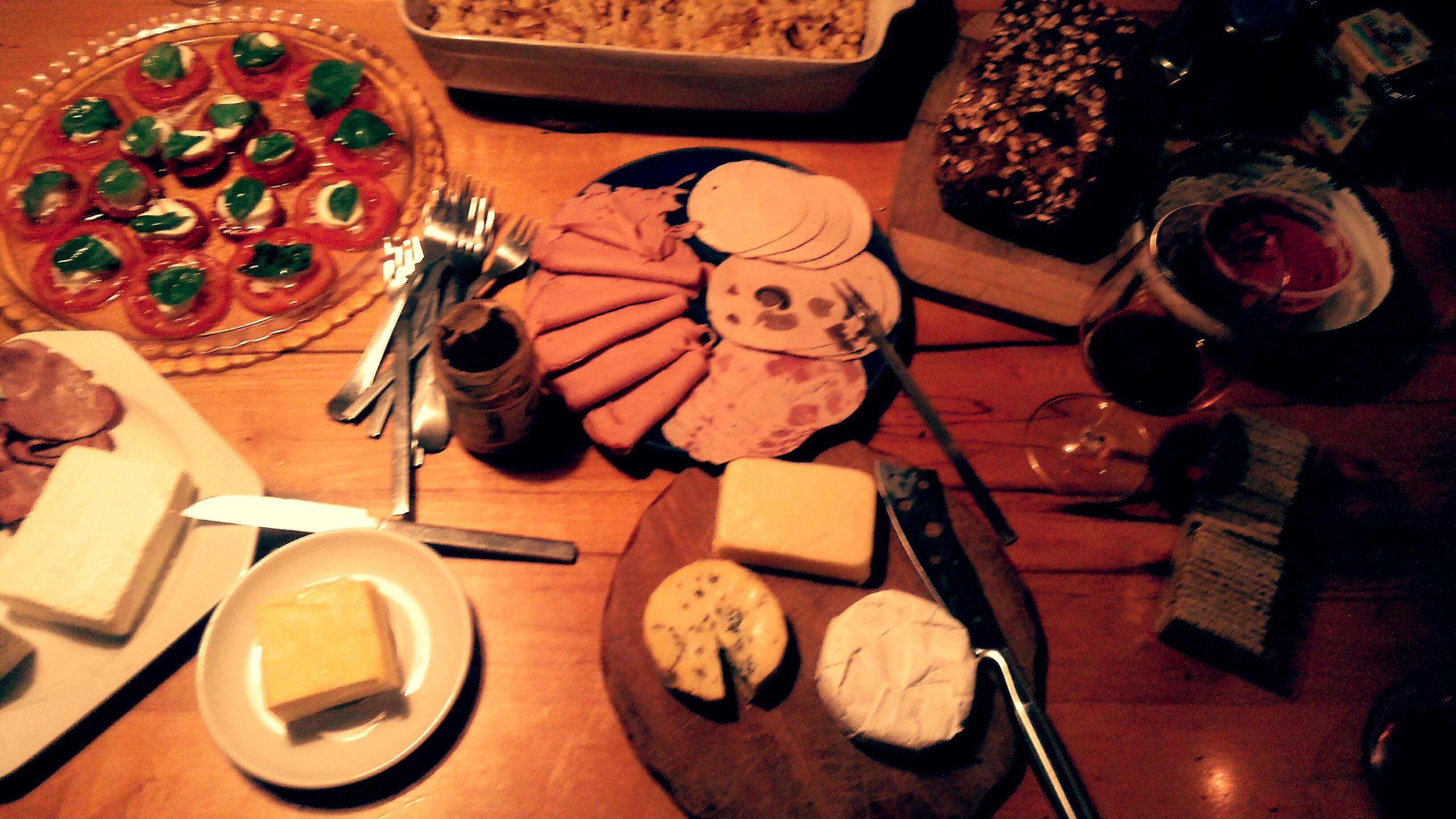 Traditional German dinner (Abendbrot
