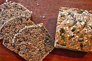 Pumpkin seed German bread
