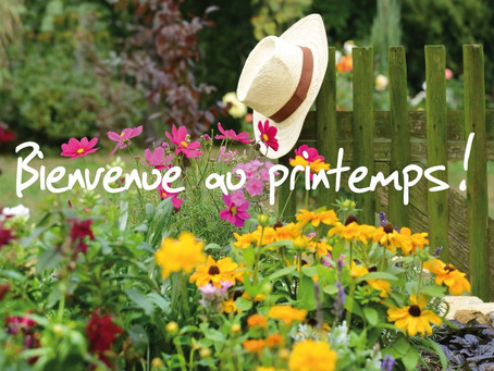 Welcome to the spring - Bienvenue au printemps - ДОБРО ПОЖАЛОВАТЬ В ВЕСНУ !