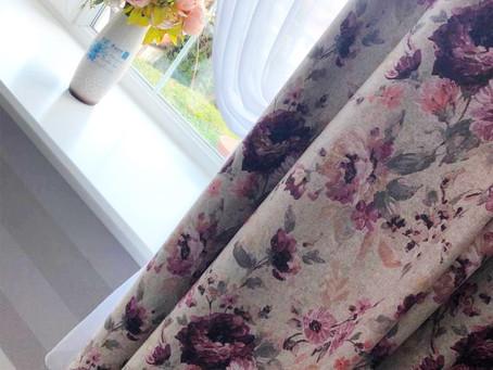 Спальня в сиреневом и лиловом