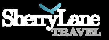 Sherry Lane Travel logo (white text tran