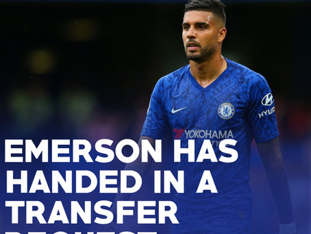 Chelsea left-back hands in transfer request