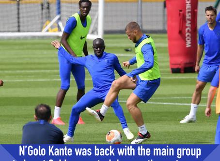 Kante returns