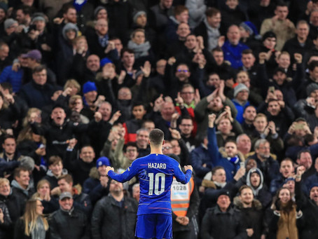 Eden Hazard scores 100 Chelsea goals