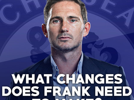 What changes does Frank need to make?