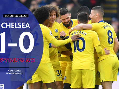 Chelsea 1-0 Crystal Palace
