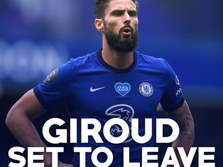 Giroud to depart in January