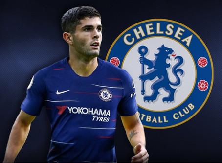 Chelsea sign Christian Pulisic