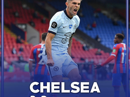 Chelsea secure 3rd place in 5 goal thriller