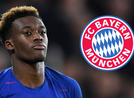 Hudson-Odoi and his German temptations