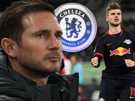 Chelsea win the race for Werner