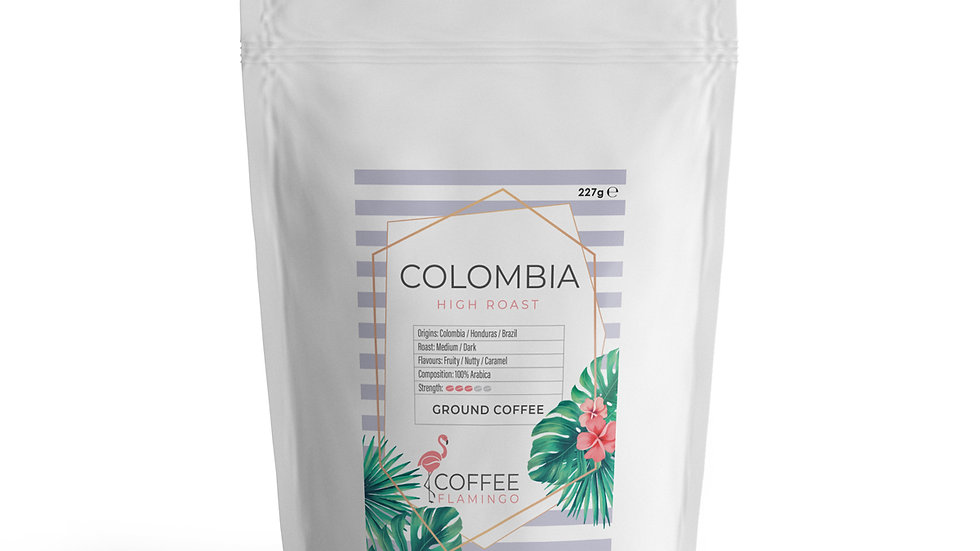 Coffee Flamingo Colombian coffee beans