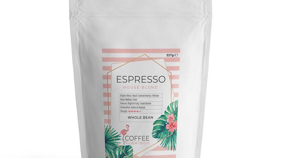 Coffee Flamingo Espresso coffee beans
