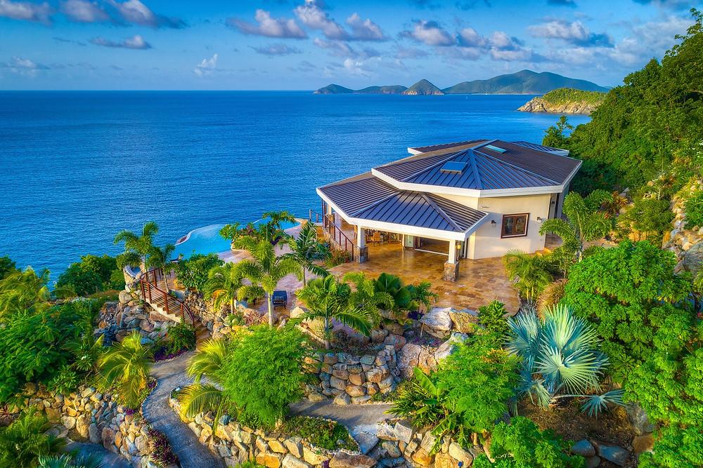Les îles vierges britanniques -  un endroit paradisiaque