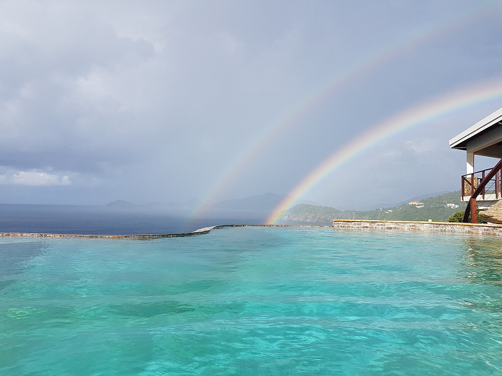 vacation-between-girlfriends-chatting-under-the-rainbow