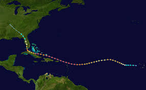 l'ouragan arrive
