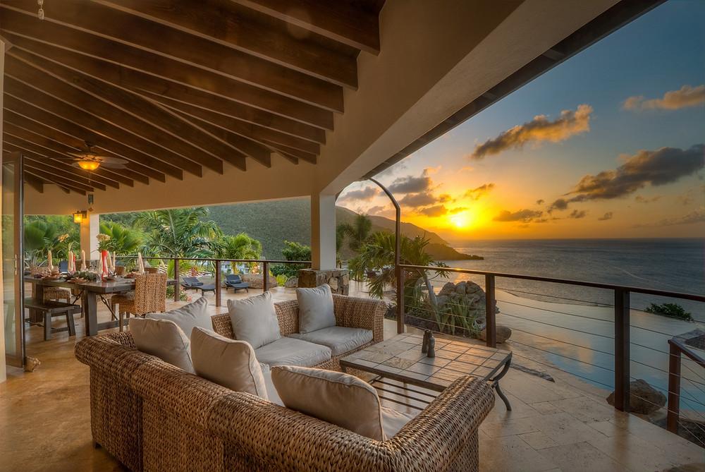 luxe calme et volupté contempler le coucher du soleil